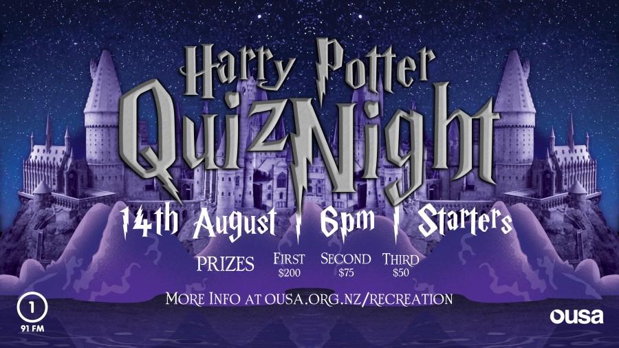 OUSA Harry Potter Quiz Night | Recreation Programme | Clubs